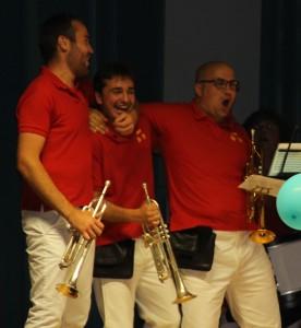 Groupe Trompette scène